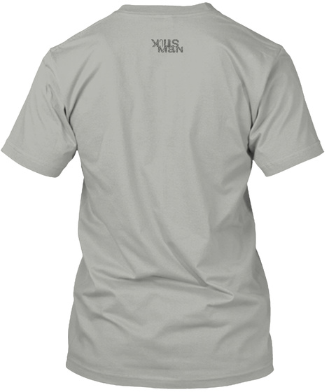 Latin Light Grey T-Shirt Back