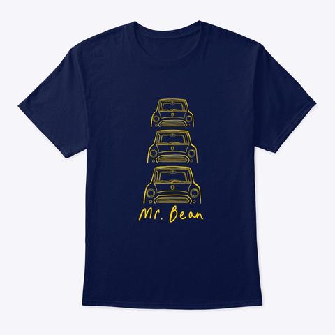 Mr Bean's Mini Navy T-Shirt Front