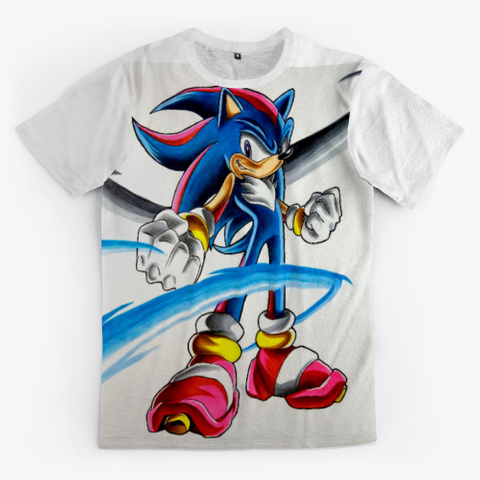 Sonic + Shadow Fusion Standard T-Shirt Front