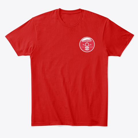Tinseltown Tee Classic Red T-Shirt Front