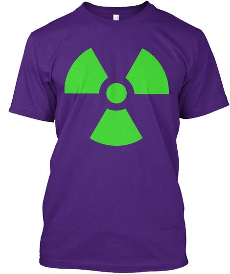 Hazard Purple T-Shirt Front