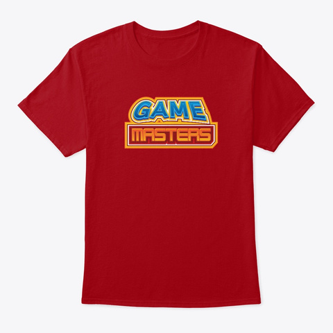 Game Masters Guild Deep Red T-Shirt Front