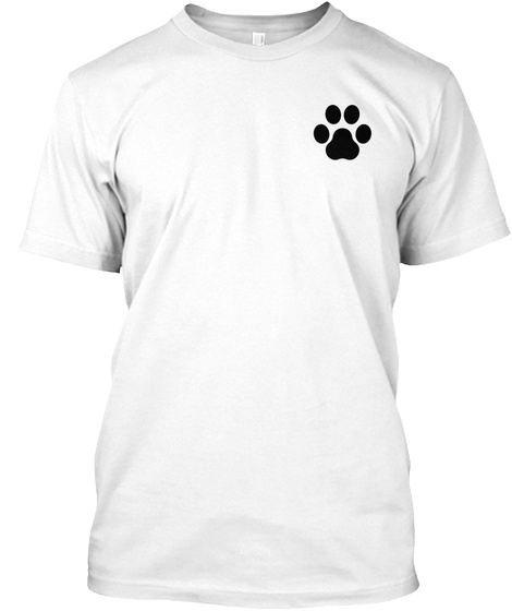 Help Purchase A Service Dog  White Camiseta Front