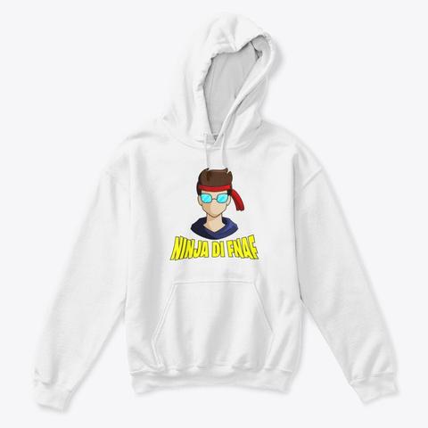 Felpa Ninja Di Fnaf  (Bambino) White T-Shirt Front