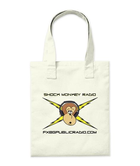 New Tote Bag!!! Natural T-Shirt Back