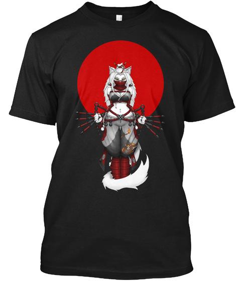 Fireblossom Rising Sun Shirt Black T-Shirt Front