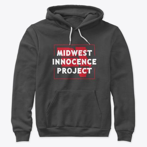 Mip Pullover Hoodie (Dark) Dark Grey Heather T-Shirt Front