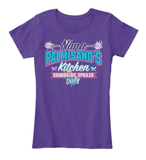 Nana Palmisano's Kitchen Purple T-Shirt Front