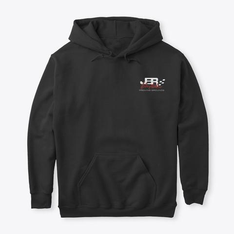 Jbpg Classic Hoodie Black T-Shirt Front