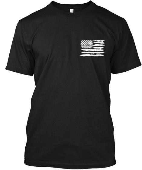 The Pledge Of Allegiance Black T-Shirt Front