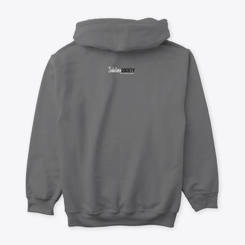 Wake. Pray. Sideline. Unisex Dark Heather T-Shirt Back