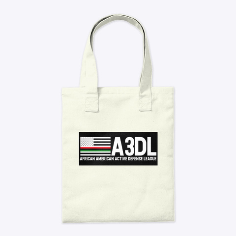 A3 Dl Soldier's Tote Bag Natural Tote Bag Back