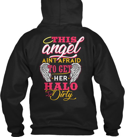 Paralegal Hoodie Christmas Special Black T-Shirt Back