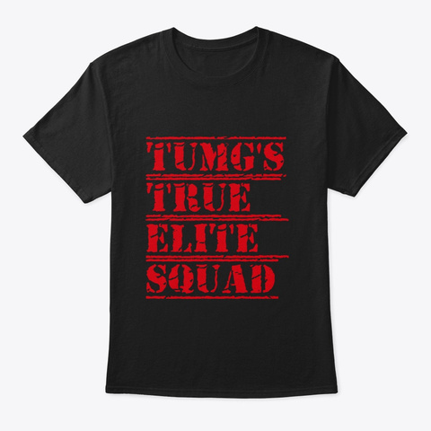 Tumgs True Elite Squad Black T-Shirt Front