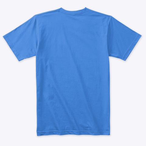 Knowledge Is Poison (Black Ink) Vintage Royal T-Shirt Back