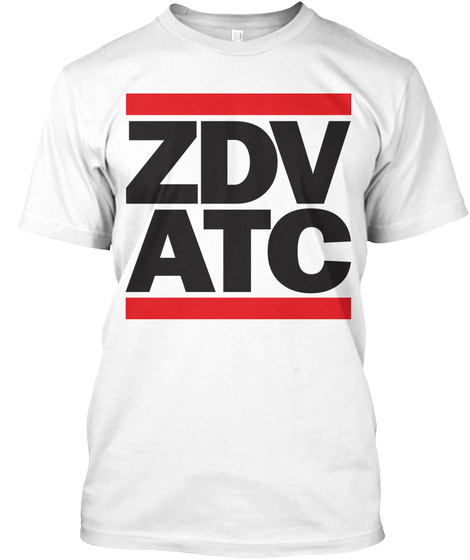 Zdv Denver Artcc   Air Traffic White T-Shirt Front