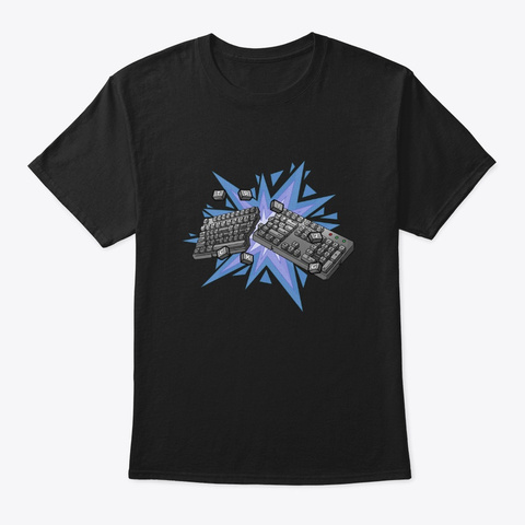 Trick2g    Break The Board Black T-Shirt Front