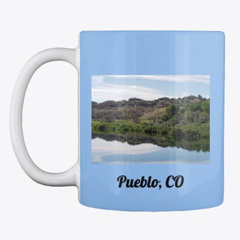 Pueblo, Co Powder Blue T-Shirt Front