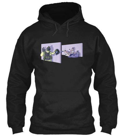The Russian Badger Black Sweatshirt Front
