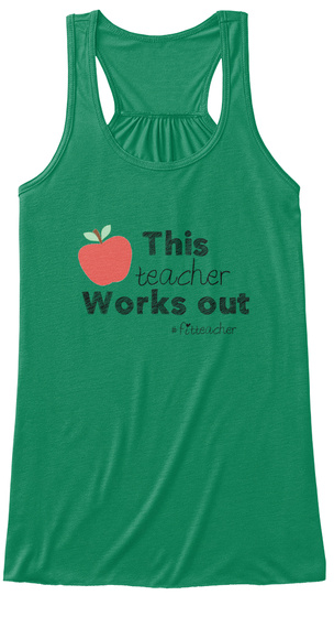 #Fitteacher Kelly Women's Tank Top Front