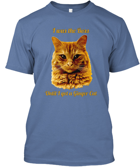 Yubnub the Ginger Cat is the Boss Unisex Tshirt