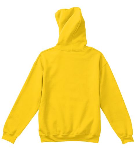 Kids Hoodie Manipura Chakra Sun Yellow T-Shirt Back