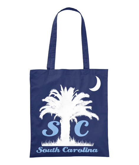 S C South Carolina Navy T-Shirt Front