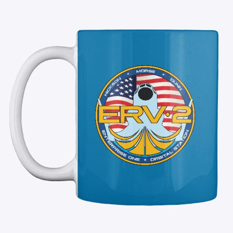 Official Erv2 Mug Royal Blue Mug Front