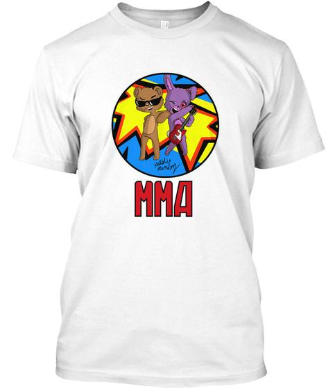 Natolis Mma White T-Shirt Front