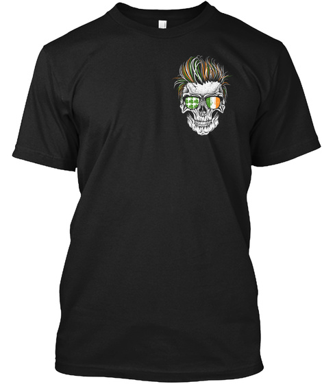 Sons Of Ireland...Shenanigans Chapter Black T-Shirt Front