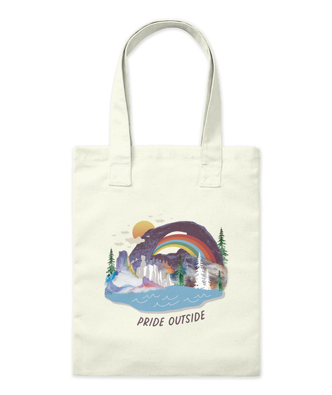 Pride Outside Natural T-Shirt Front