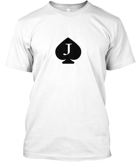 J White T-Shirt Front