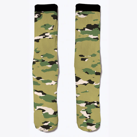 Military Camouflage   Woodland Iii Standard T-Shirt Front