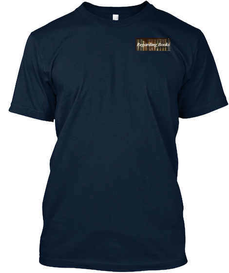 The Hound Of The Baskervilles Book Cover New Navy T-Shirt Front