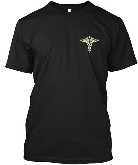 Cna's Prayer Black T-Shirt Front