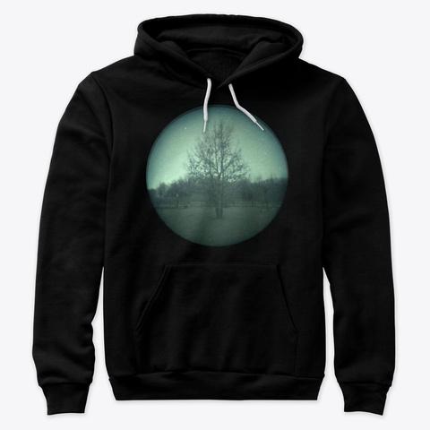 Awesome Nature Blue Moon Portrait!! Black T-Shirt Front