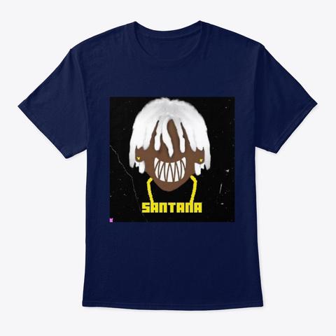 Big Santana Collection Navy T-Shirt Front