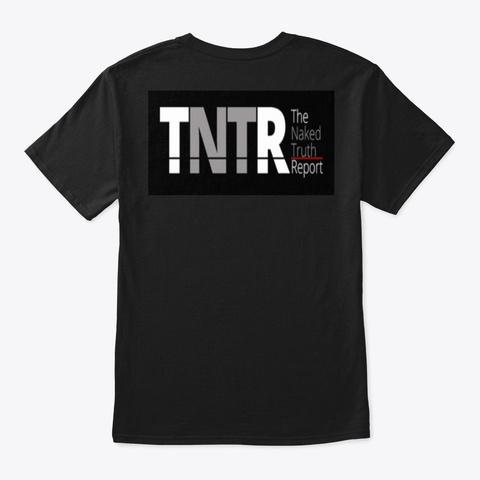 Media Is The Problem Black T-Shirt Back