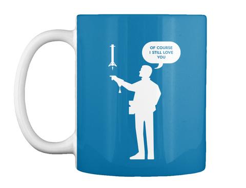 Falconer 1 Man Mug [Int] #Sfsf Royal Blue Mug Front