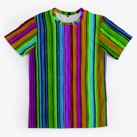 Turtle Tubbs Pretty Striped Unisex  Tee Standard T-Shirt Front