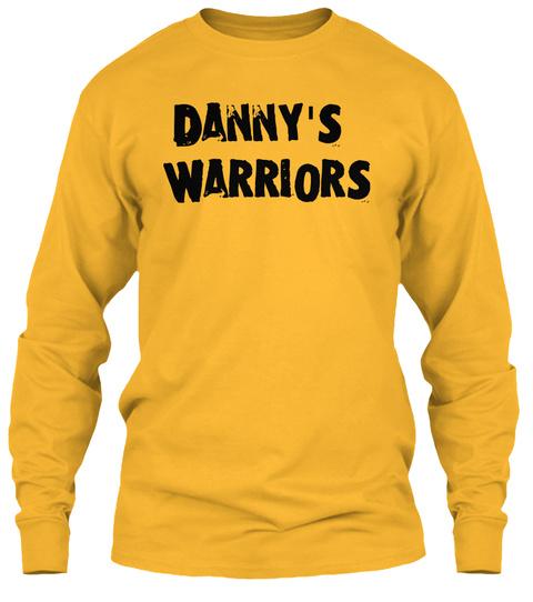 Danny's Warriors Gold T-Shirt Front