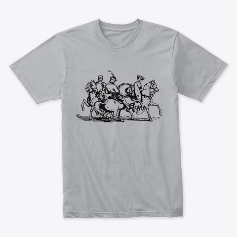 Art Heather Grey T-Shirt Front