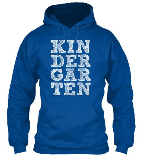 Kindergarten Royal T-Shirt Front
