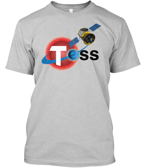 Tess Light Steel T-Shirt Front