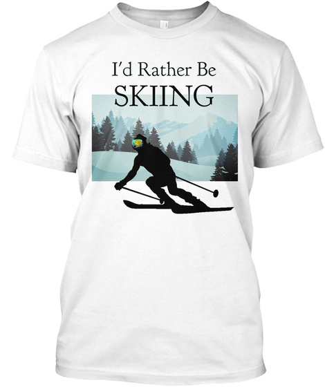 I/'d Rather Be Nordic Skating Sweatshirt