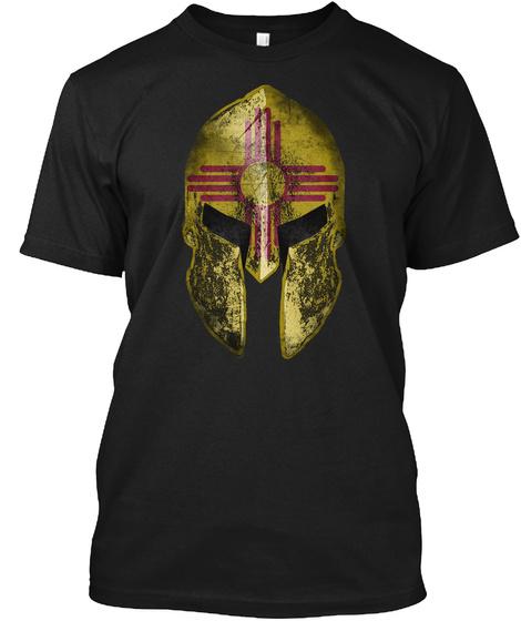 New Mexico Spartan Black Camiseta Front