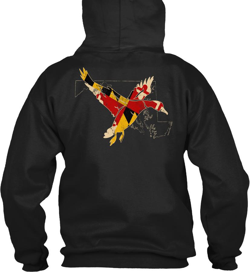 1116 Maryland Duck Hunter Waterfowl Unisex Tshirt