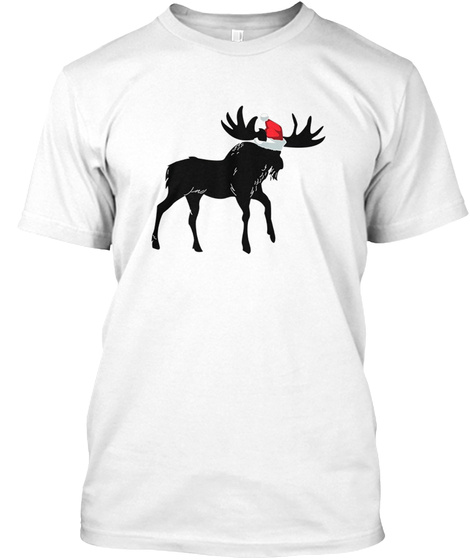 c42d1615 Funny Christmas Moose Santa Hat Products from Christmas Moose T ...