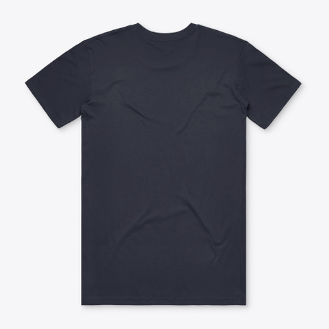 We're Talking To Ethereum Navy T-Shirt Back