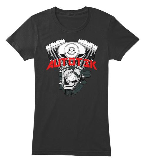Autot3k Black T-Shirt Front